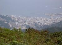 風景 熱海 滝知山から
