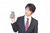 携帯電話 男性